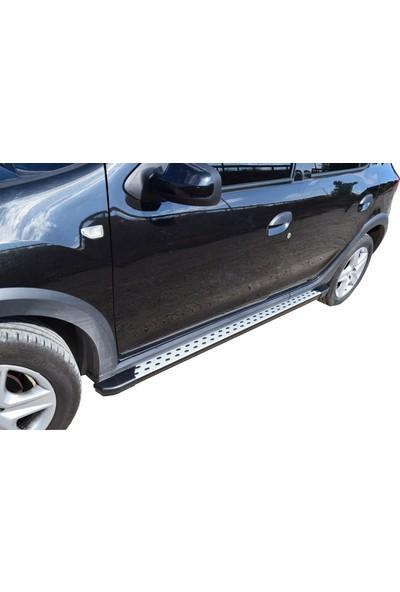 Ekiciler Dacia Sandero Stepway Alüminyum Yan Basamak