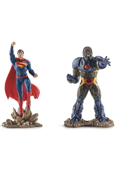 Schleich Superman vs Darkseid Set