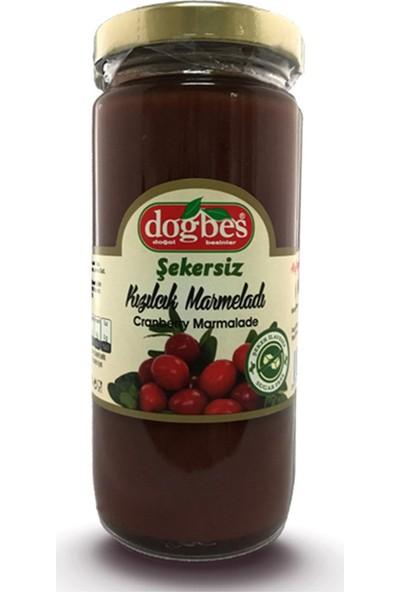 Doğbeş Maya Şeker Katkısız Kızılcık Marmelatı Doğbes Kavanoz 300 gr