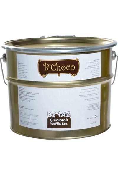 B'Choco Beyaz Pralin Çikolata 10 kg