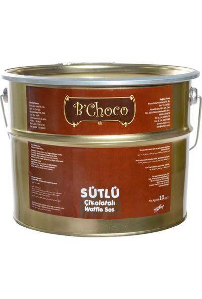 B'choco Sütlü Çikolata Waffle Sos 10 kg