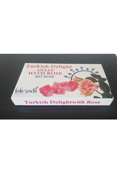 Lalezade Turkish Delight Güllü Lokum