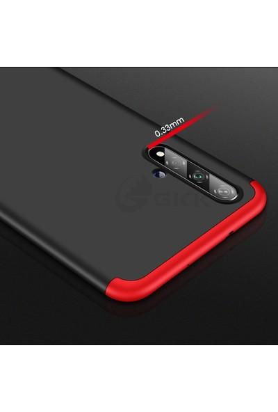 KNY Honor 20 Kılıf 3 Parça 360 Ays Kapak+Cam Ekran Koruyucu