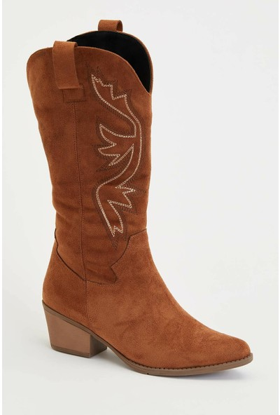 Defacto Kadın Kovboy Çizme