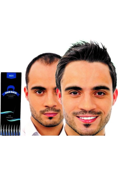 Hairback Mavi Serum Saç Losyonu 60 ml 3 Adet