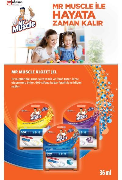 Mr Muscle Klozet Temizlik Jeli Marine + Citrus