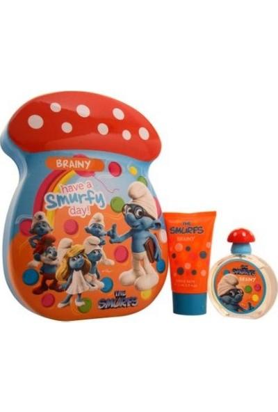 The Smurfs Şirinler Braıny Çocuk Parfümü Set Edt 50 Ml Ve Duş Jeli 75 Ml
