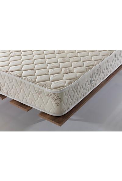 Doğuş Queen White Sert Ortopedik Yaylı Yatak 100 x 200 cm