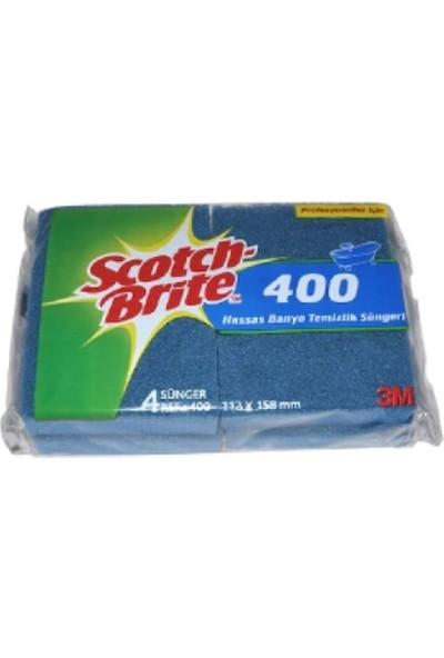 Scotch Brite Hassas Banyo Temizlik Süngeri 4'lü