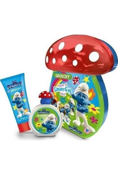 The Smurfs Şirinler Grouchy Çocuk Parfümü Set Edt 50 Ml Ve Duş Jeli 75 Ml