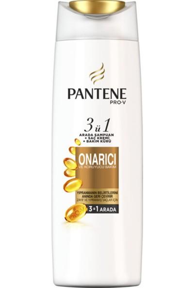 Pantene Onarıcı ve Koruyucu Bakım 470 ml 3'ü 1 Arada Şampuan ve Saç Bakım Kremi