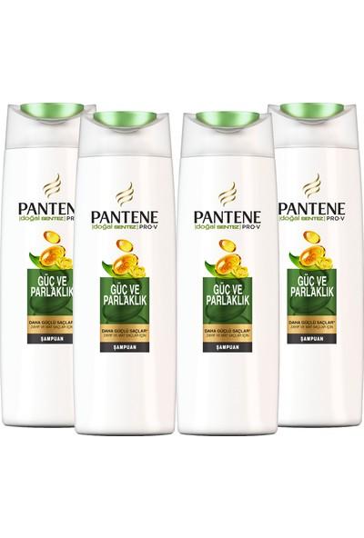 Pantene Şampuan Doğal Sentez Güç ve Parlaklık 4 x 500 ml