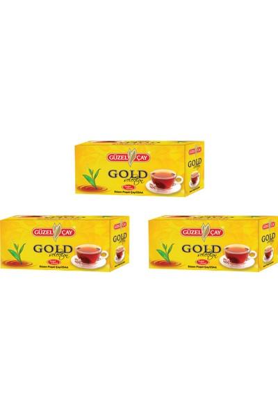 Güzel Çay 25 Adet Gold Selection Bardak Poşet Çay Fırsat Paketi