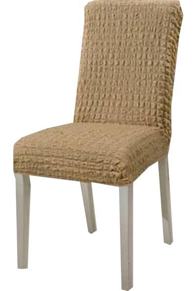 Golden Class Vizon Bürümcük Sandalye Kılıfı 6 Adet