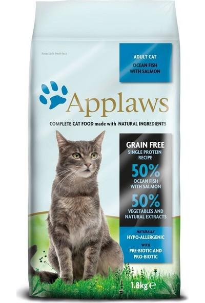 Applaws Okyanus Balıklı & Somonlu Tahılsız Kedi Maması 1,8Kg