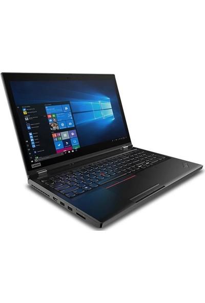 "Lenovo ThinkPad P53 Intel Core i7 9850H 16GB 512GB SSD Quadro T2000 Windows 10 Pro 15.6"" FHD Taşınabilir Bilgisayar 20QN002PTX"