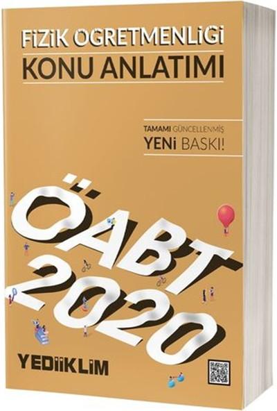 Yediiklim Yayınları 2020 ÖABT Fizik Öğretmenliği Konu Anlatımı