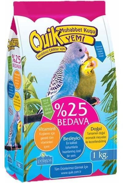 Quik Muhabbet Yemi 750+250Gr.