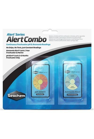 Seachem Alert Combo Ph+Ammonia Göstergesi