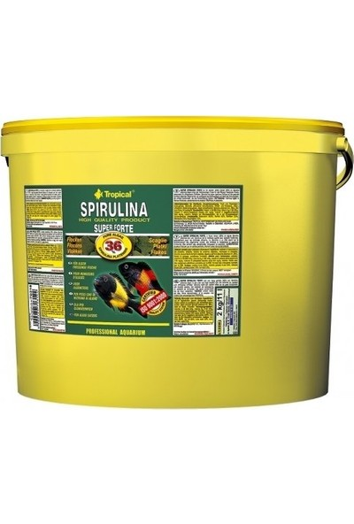 Tropical Super Spirulina Forte Flake 100Gr (Açık)