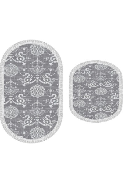 Decoling İpek 1861 Dekoratif Oval Klozet Takımı
