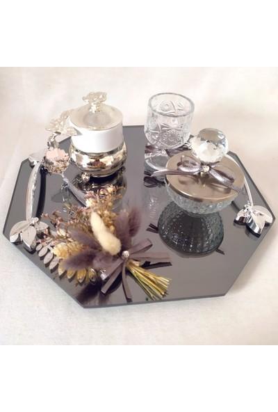 Naciden Altıgen Gümüş Damat Fincanı Damat Kahvesi
