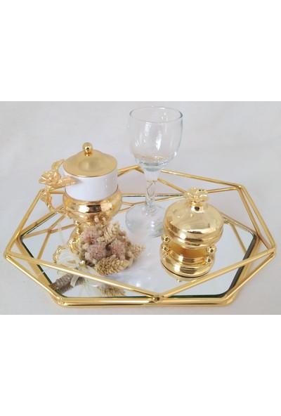 Naciden Gold Prizma Damat Kahvesi Damat Fincanı