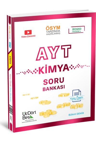 Üçdörtbeş Yayınları Ayt Kimya Konu Özetli Soru Bankası