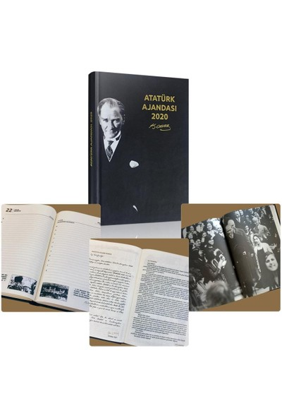 Soylu Atatürk 2020 Ajandası