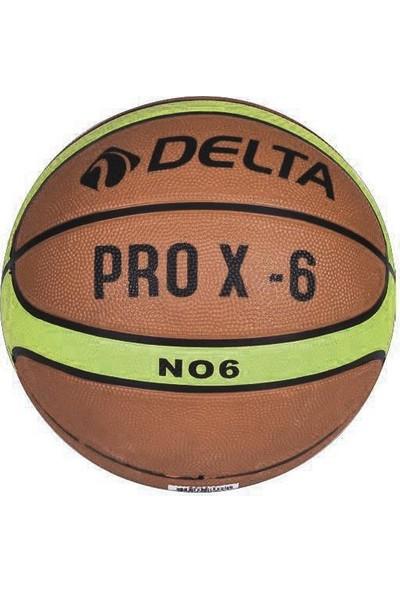 Delta Kauçuk Basketbol Topu ProX 6 Numara