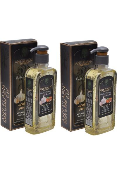Any Klaen Saç Bakım Yağı - Badem ve Sarımsak Özlü 2 x 250 ml
