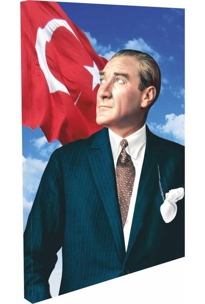 Gönder Bayrak Atatürk 8.görsel – 50 x 75 cm – Dikey Tablo – Gönder Bayrak Markalı