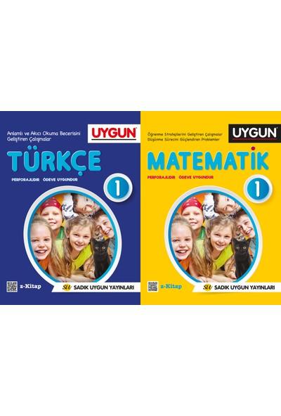 Sadık Uygun Yayınları 1. Sınıf Türkçe Matematik Seti