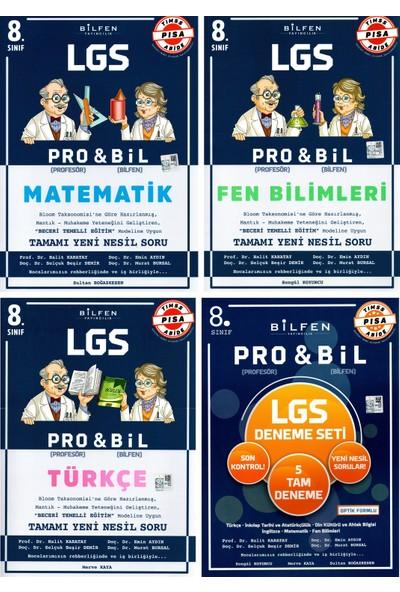 Bilfen Yayınları 8. Sınıf LGS Pro & Bil Seti + Probil Deneme Seti