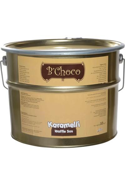 B'Choco Karamelli Pralin Çikolata 10 kg