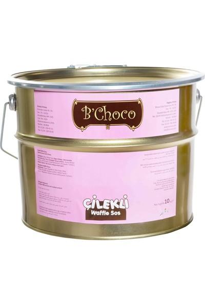 B'Choco Çilekli Pralin Çikolata 10 kg
