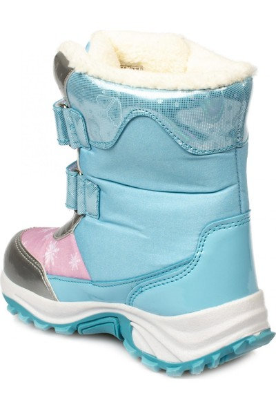 Frozen Oly-P Cırtlı Kürklü Mavi Çocuk Bot