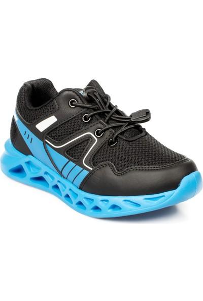 Jump 24742 F Athletics Siyah Çocuk Spor Ayakkabı