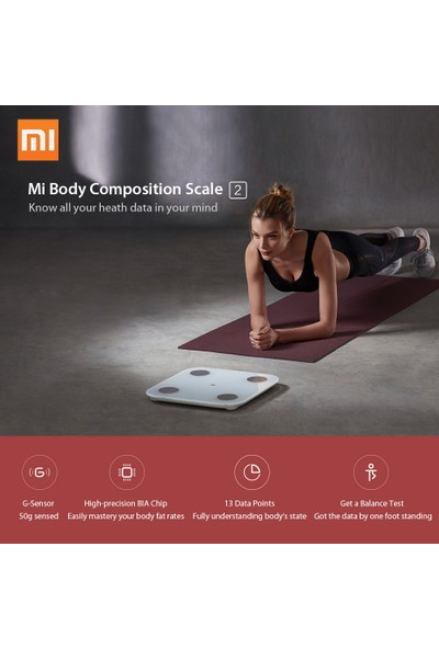 Xiaomi Mi Akıllı Tartı 2 (İthalatçı Garantili)