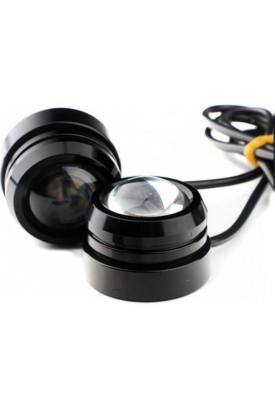 Knmaster Kartal Gözü Gündüz Farı Eagle Eye LED 3 m Beyaz