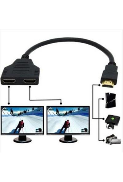 Upjaks 2 Port HDMI Splitter Switch Çoklayıcı Ekran Çoğaltıcı Hub