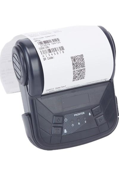 Ptfis Mht Taşınabilir Kablosuz Bluetooth Termal Yazıcı 80mm