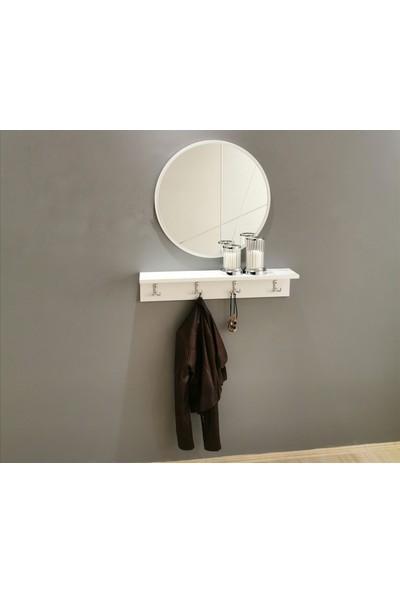 NeoStill Neostill- Aynalı Vestiyer Portmanto Askılık Dresuar