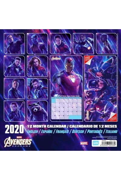 Erik Marvel Avangers End Game 2020 Takvim İthal