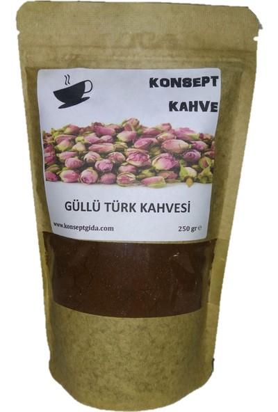 Konsept Güllü Türk Kahvesi 250 gr