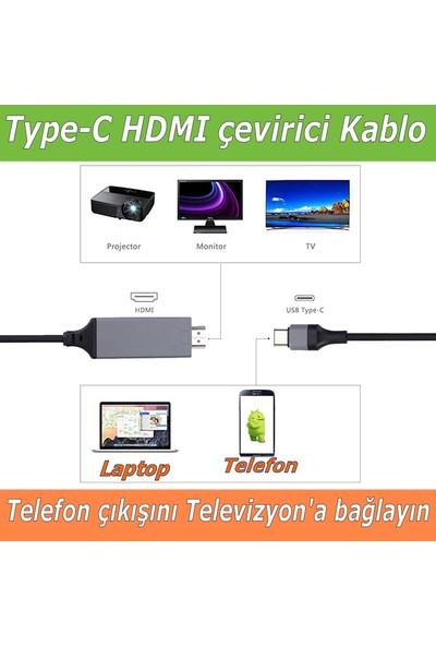 Iberry Type-C To HDMI Görüntü Aktarma Kablosu