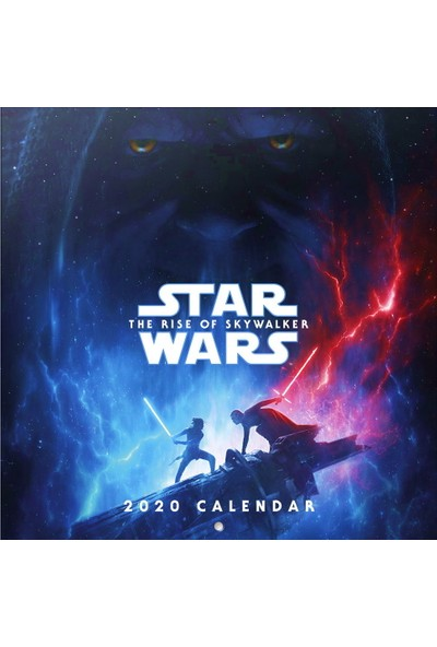 Erik Star Wars The Rice Of Skywalker 2020 Takvim İthal