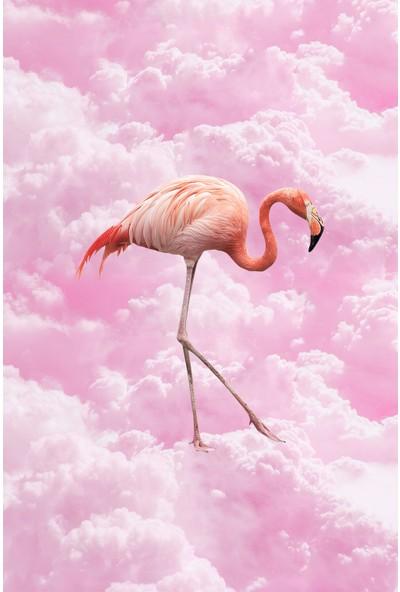 Resmiro Hayal Flamingo Dijital Baskılı Halı