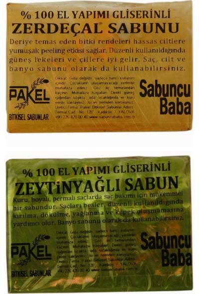 Sabuncu Baba Zeytinyağlı Sabun ve Zerdeçal Sabunu