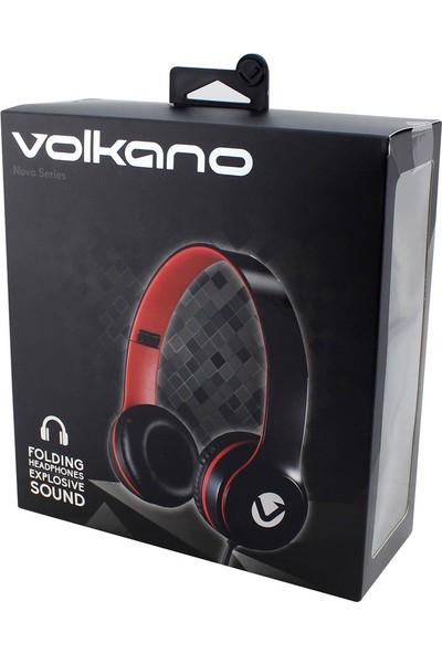 Volkano Nova Kulak Üstü Kulaklık Siyah
